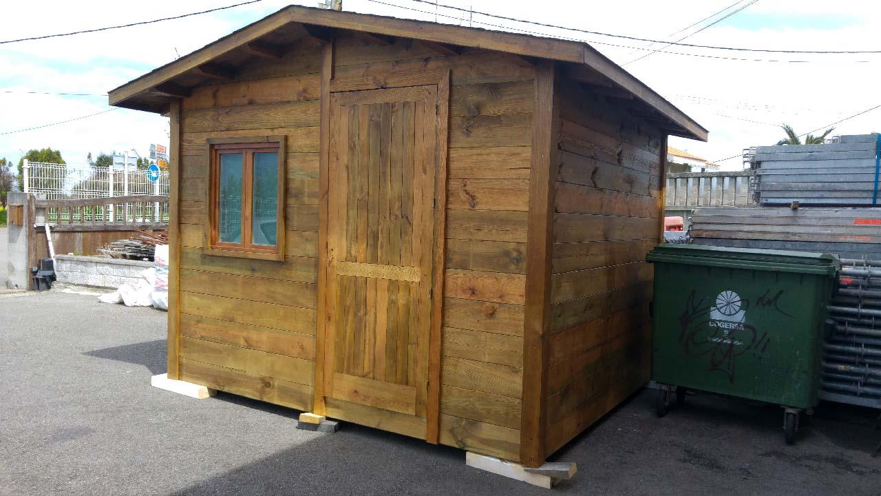 Caseta de madera de Pino tratado