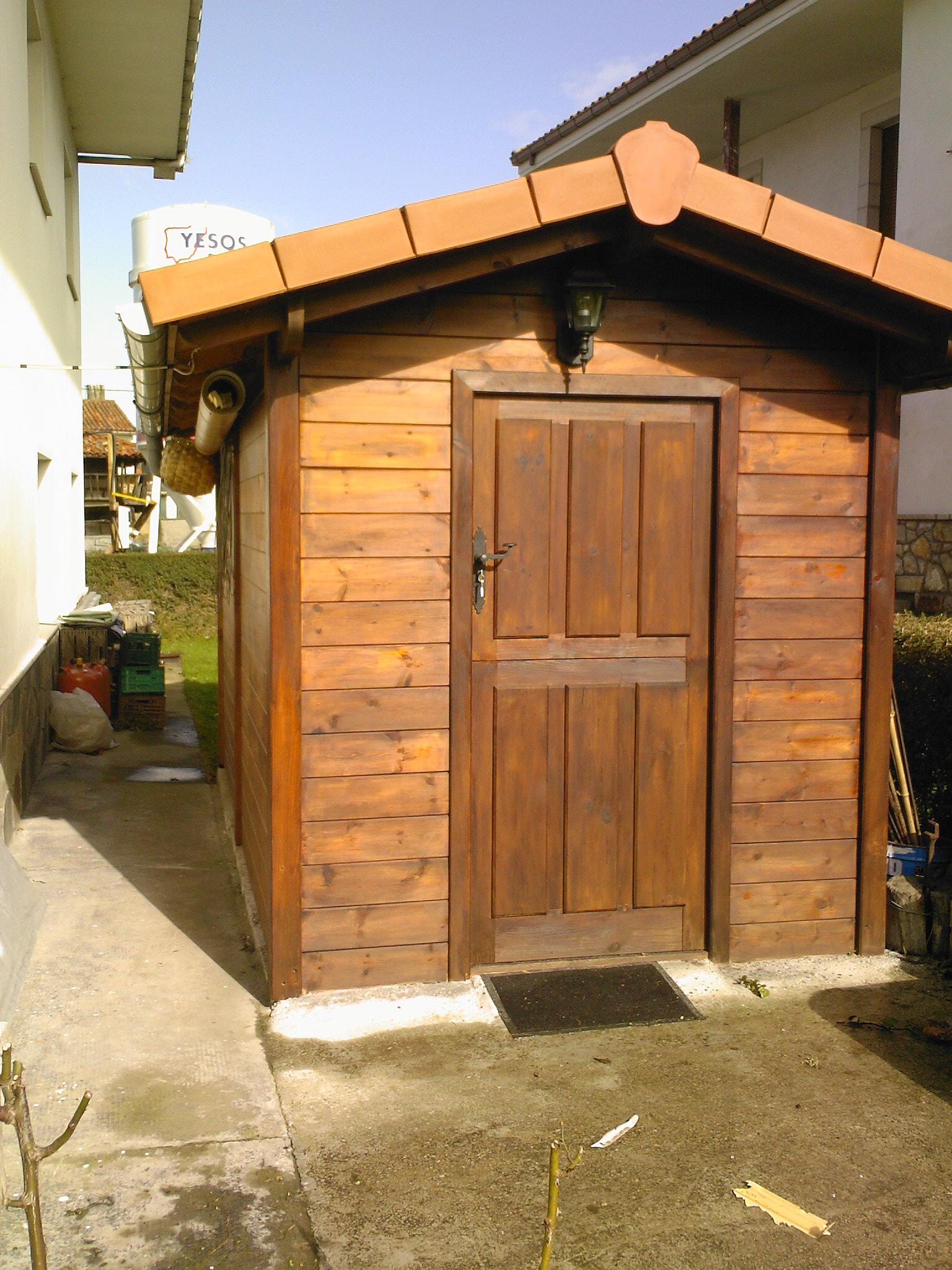 Caseta de madera de Pino Norte