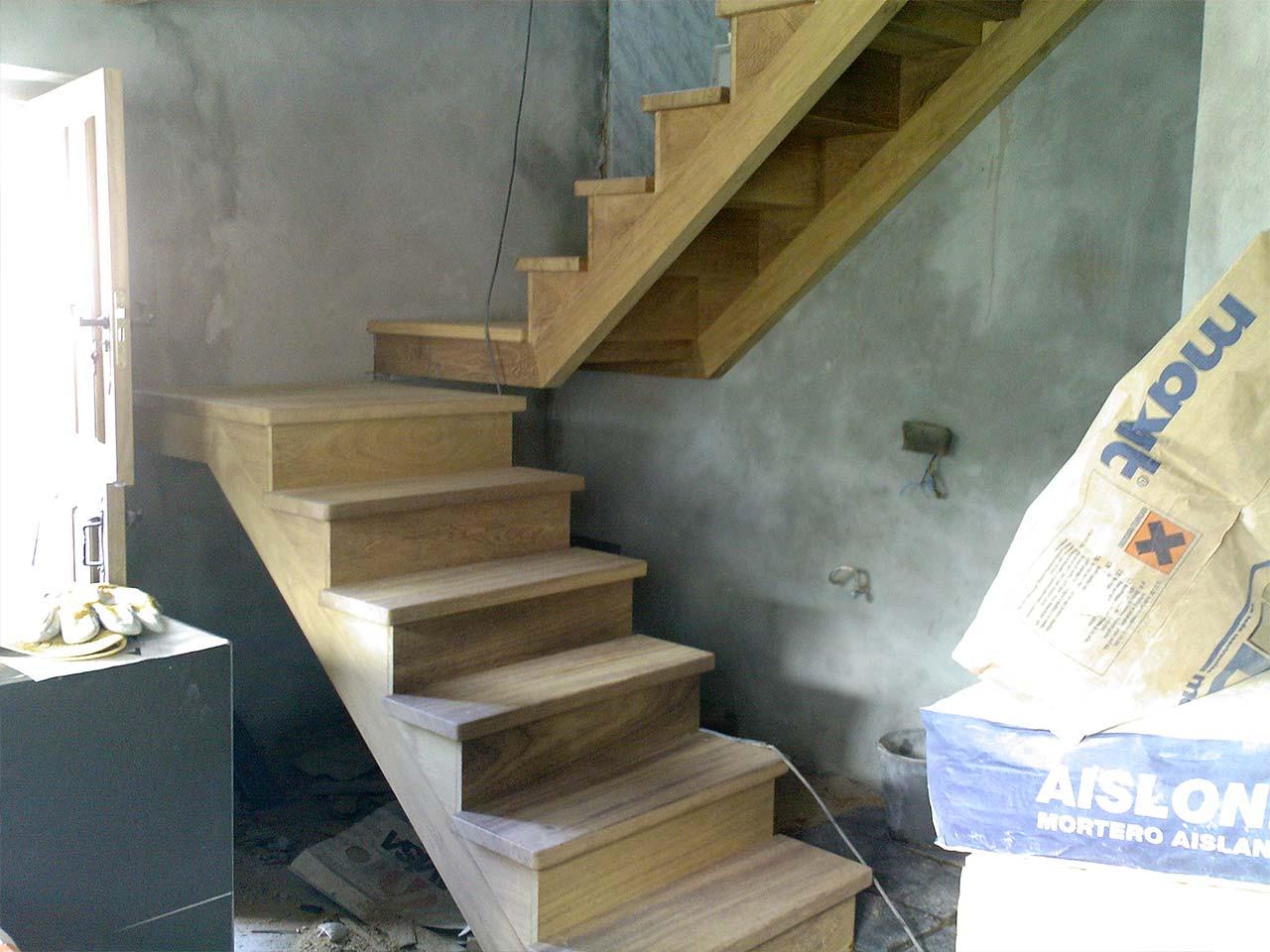 Escalera de Iroko