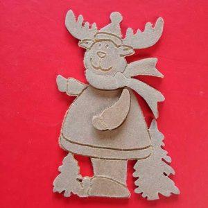 Figura Navidad Reno Mod.1