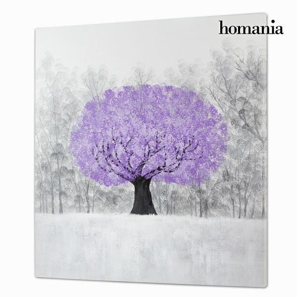 Cuadro óleo árbol by Homania
