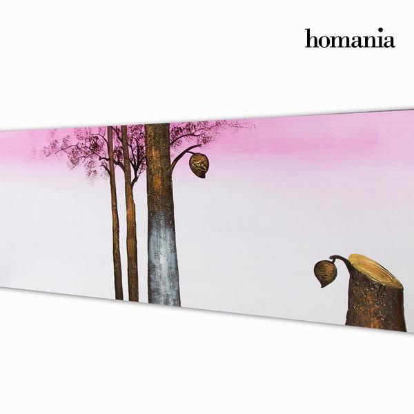Cuadro óleo árbol purp by Homania