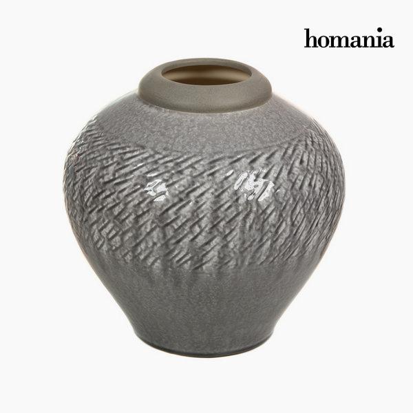 Jarrón de cerámica gris claro by Homania