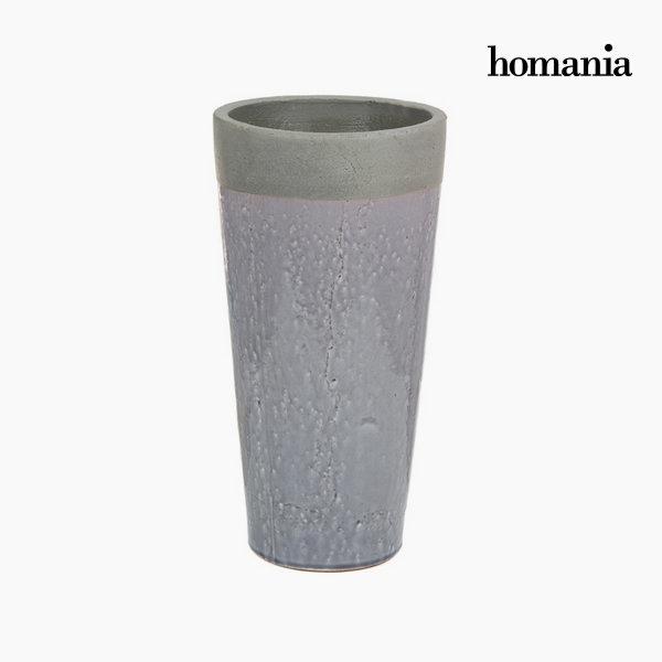 Jarrón de cerámica gris by Homania