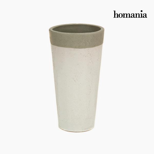Jarrón de cerámica blanco by Homania