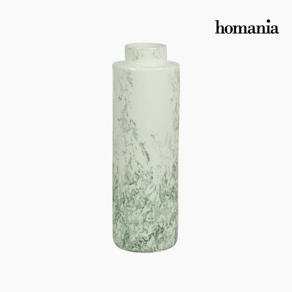 Jarrón cerámica blanco gris by Homania