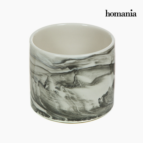 Centro Mesa Cerámica Blanco By Homania