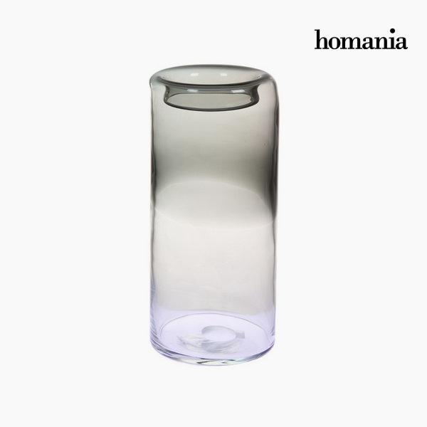 Jarrón de cristal gris by Homania