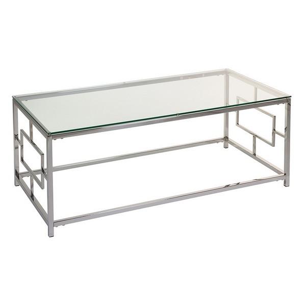 Mesa de Centro Vel Cristal (120 x 60 x 45 cm)