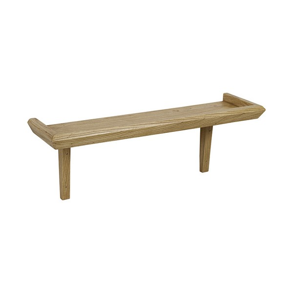 Estante Madera de mindi Playwood (80 x 22 x 30 cm)