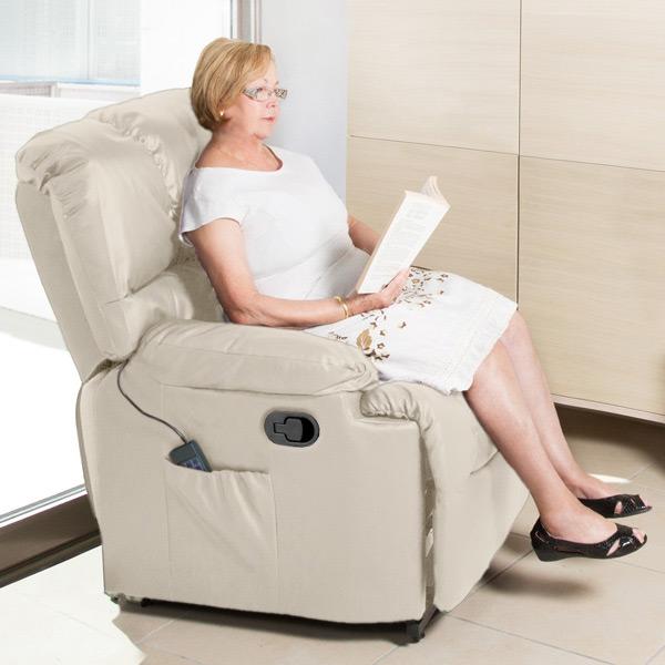 Sillón Relax Masajeador Craftenwood 6002