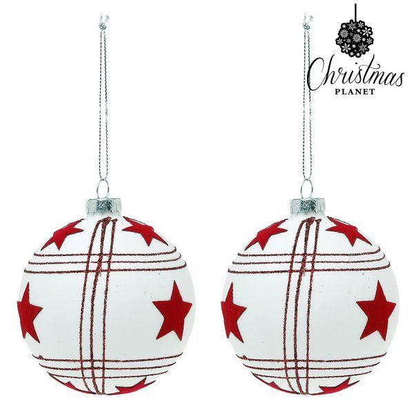 Bolas de Navidad Christmas Planet 8656 8 cm (2 uds)