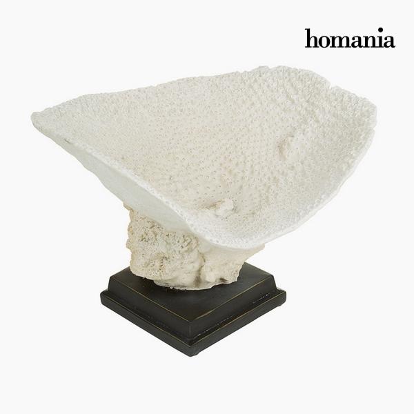 Centro de Mesa Resina Beige (37 x 33,5 x 25,5 cm) by Homania