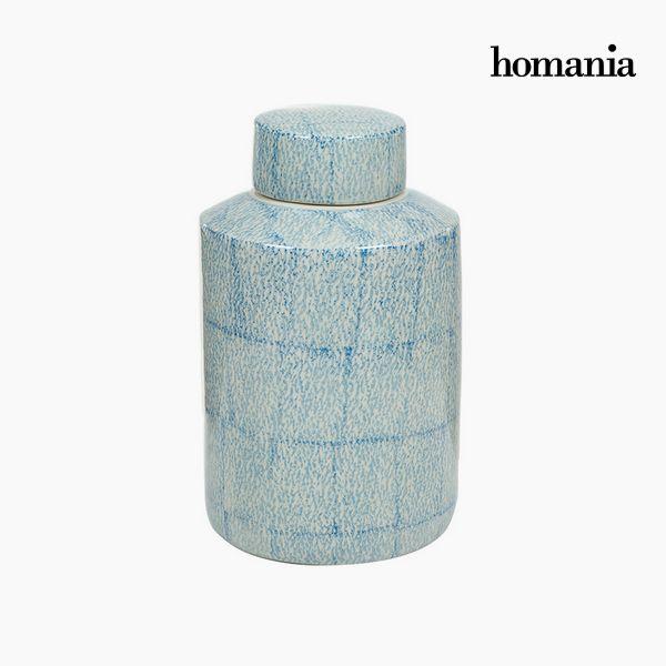 Tibor Gres Azul (20 x 20 x 32,5 cm) by Homania