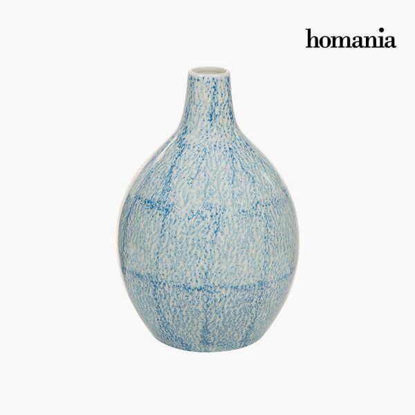 Jarrón Gres (17 x 17 x 25 cm) – Colección Pure Crystal Deco by Homania