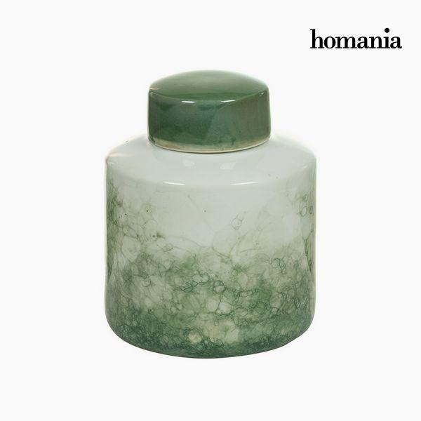 Tibor Gres Verde (18 x 18 x 22 cm) by Homania