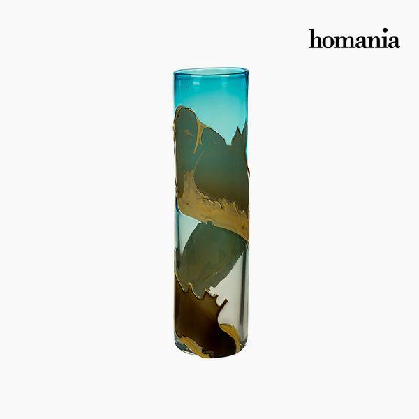 Jarrón Cristal (12 x 12 x 45 cm) – Colección Pure Crystal Deco by Homania