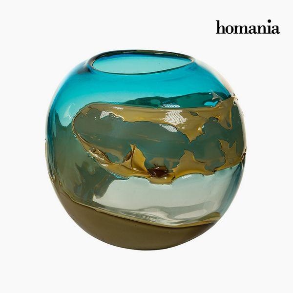 Jarrón Cristal (26 x 26 x 23 cm) – Colección Pure Crystal Deco by Homania