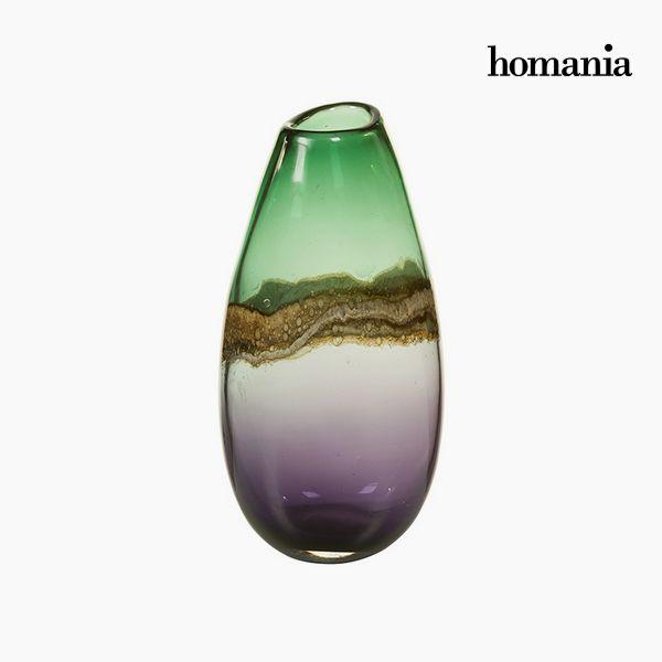 Jarrón Cristal (15 x 13 x 30 cm) – Colección Pure Crystal Deco by Homania