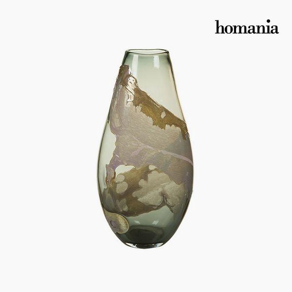 Jarrón Cristal (24 x 16 x 45 cm) – Colección Pure Crystal Deco by Homania
