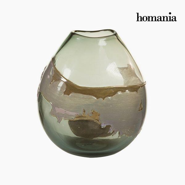 Jarrón Cristal (24 x 15 x 26 cm) – Colección Pure Crystal Deco by Homania