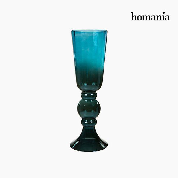 Jarrón Cristal (20 x 20 x 58 cm) – Colección Pure Crystal Deco by Homania