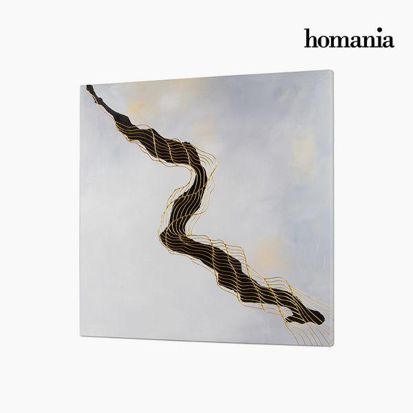 Cuadro Óleo (100 x 4 x 100 cm) by Homania