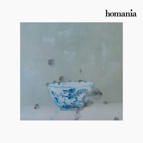 Cuadro Óleo (80 x 4 x 80 cm) by Homania