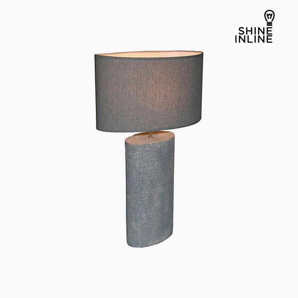 Lámpara de Mesa Gris (50 x 26 x 71 cm) by Shine Inline