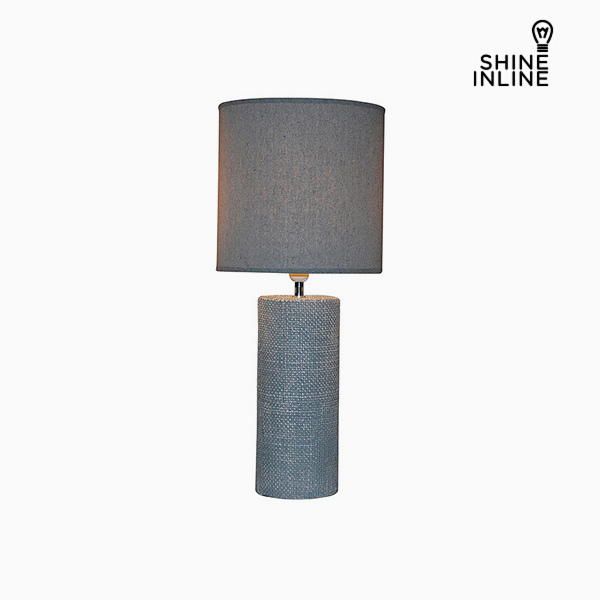 Lámpara de Mesa Gris (29 x 29 x 70 cm) by Shine Inline