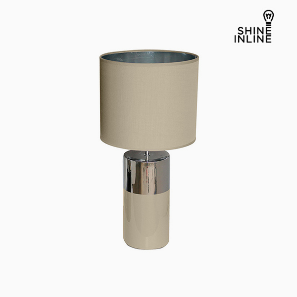 Lámpara de Mesa Gris (30 x 30 x 62 cm) by Shine Inline