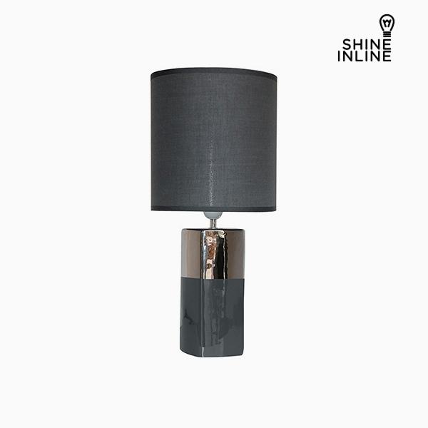 Lámpara de Mesa Gris (24 x 24 x 54 cm) by Shine Inline