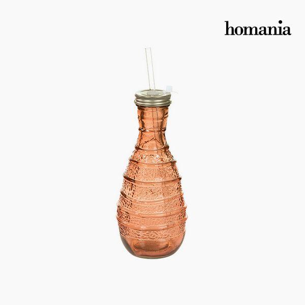 Botella de Vidrio Reciclado – Colección Pure Crystal Deco by Homania