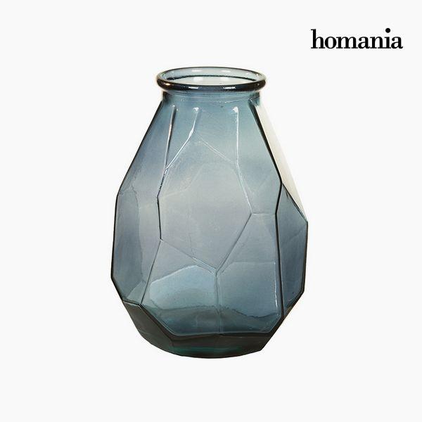 Jarrón de Vidrio Reciclado (25 x 25 x 35 cm) – Colección Pure Crystal Deco by Homania
