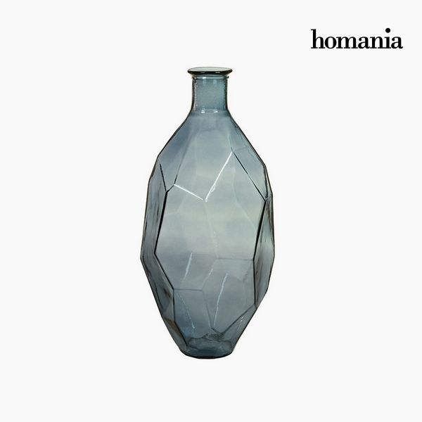 Jarrón de Vidrio Reciclado (29 x 29 x 59 cm) – Colección Pure Crystal Deco by Homania