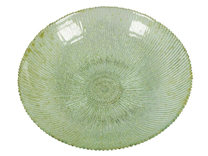Centro De Mesa De Vidrio Reciclado Verde – Colección Crystal Colours Deco