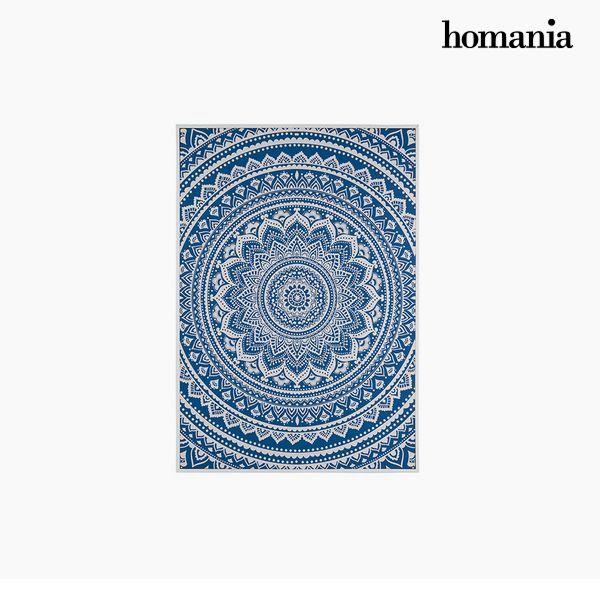 Cuadro Mandala Azul (69 x 4 x 97 cm) by Homania