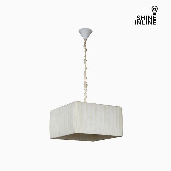 Lámpara de Techo Algodón Poliéster (40 x 40 x 22 cm) by Shine Inline
