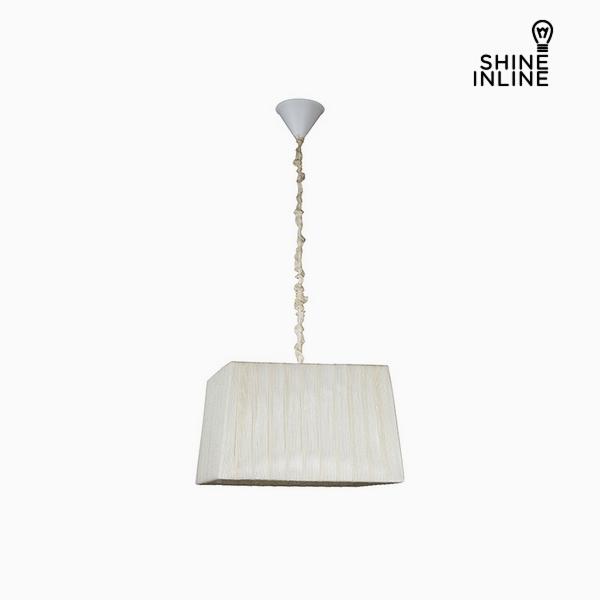 Lámpara de Techo Blanco (40 x 30 x 25 cm) by Shine Inline