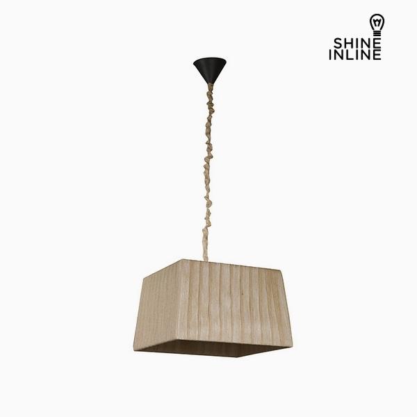 Lámpara de Techo Algodón Poliéster (40 x 30 x 25 cm) by Shine Inline