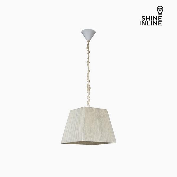 Lámpara de Techo Algodón Poliéster (30 x 20 x 25 cm) by Shine Inline