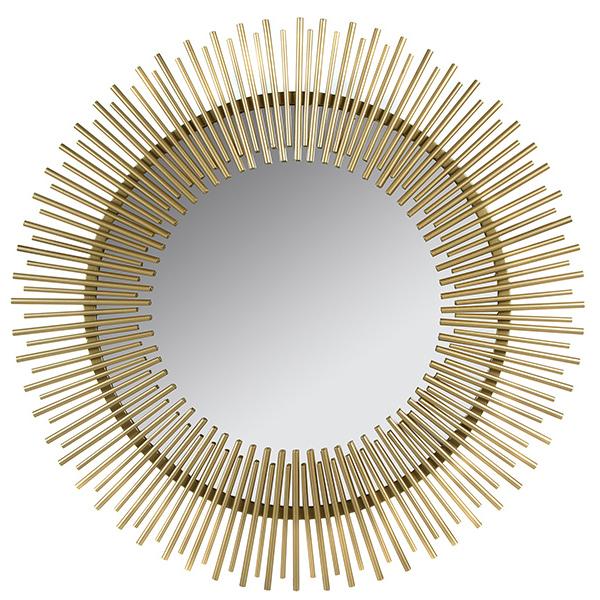 Espejo Golden Rays (90 x 3 x 90 cm)