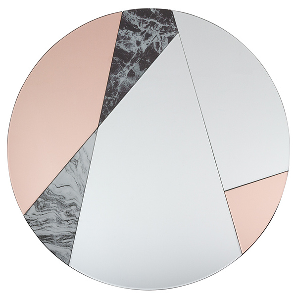 Espejo Orbed (80 x 4 x 80 cm)