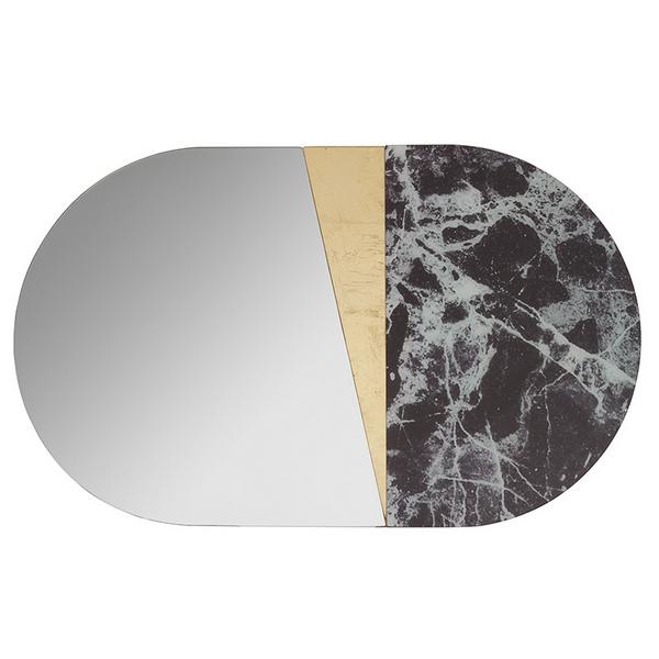 Espejo Oval (83 x 4 x 50 cm)