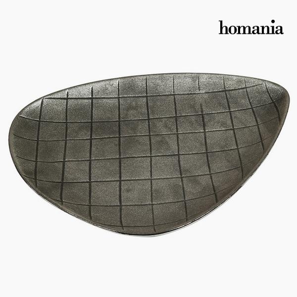 Centro de Mesa Cerámica (39 x 30 x 4 cm) by Homania