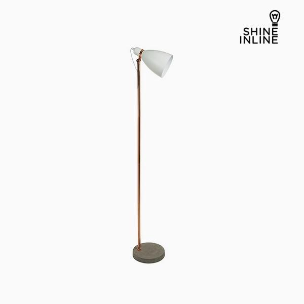 Lámpara de Pie Blanco Aluminio Hormigón (29 x 24 x 151 cm) by Shine Inline