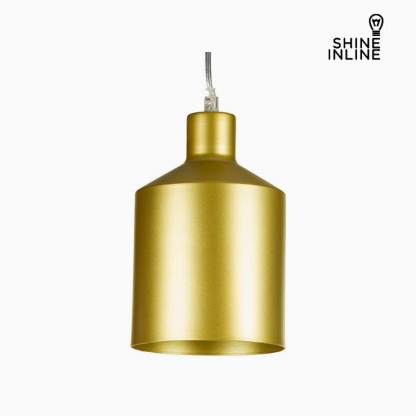 Lámpara de Techo Dorado Hierro (13 x 13 x 23 cm) by Shine Inline