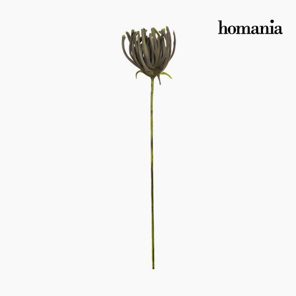 Figura Decorativa Flor Espuma Gris (85 cm) by Homania
