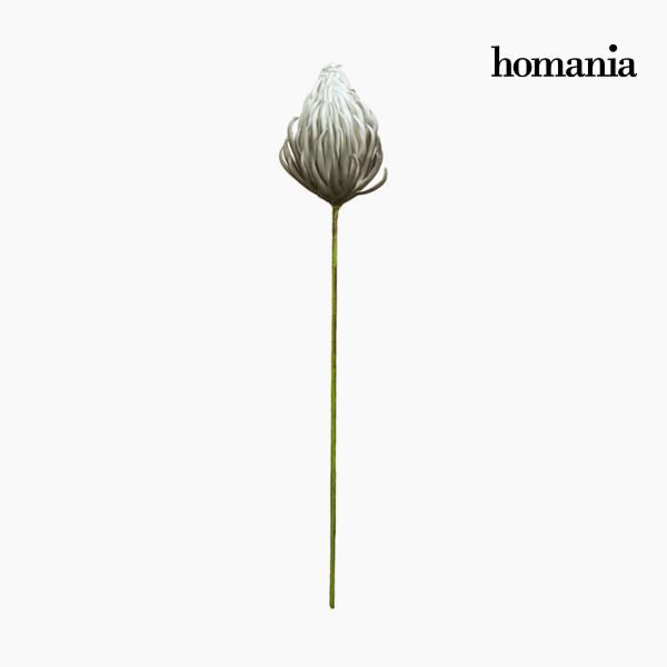Figura Decorativa Flor Espuma Gris (87 cm) by Homania