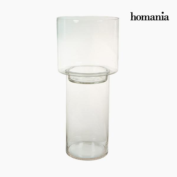 Portavelas Vidrio – Colección Pure Crystal Deco by Homania